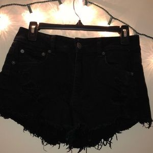 High-Waisted Jean Shorts (Stretchy!)